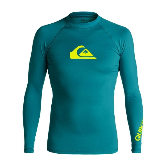 9bc4de77ebb1d Quiksilver All Time LS Rashguard- Morocco: Neptune Diving & Ski