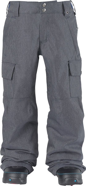 c3d7892ab761 Burton Boys  Exile Cargo Pant - Heather Bog  Neptune Diving   Ski