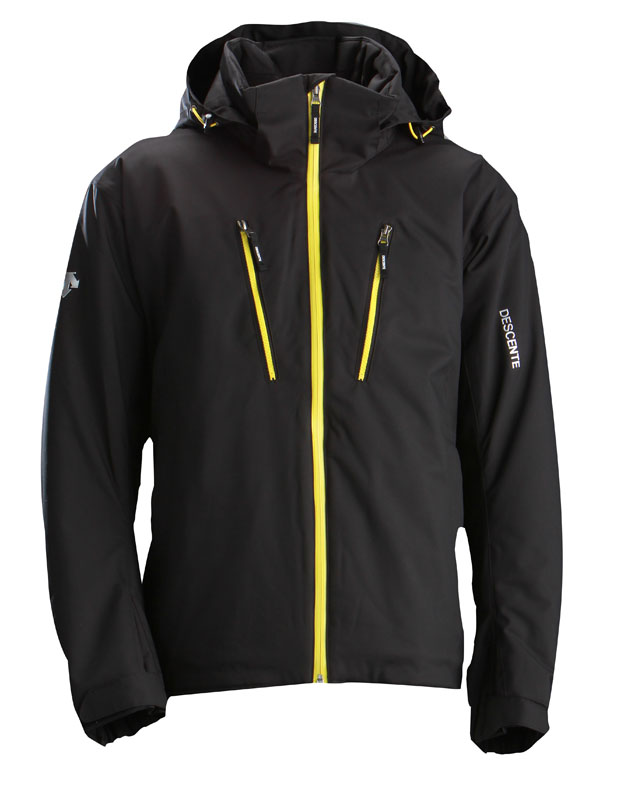 Descente Men S Orion Jacket Black Neptune Diving Amp Ski