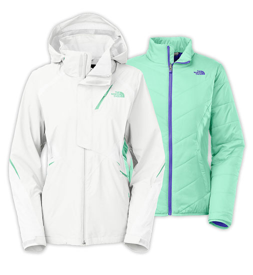 148f8f9c5 The North Face Women's Kira Triclimate Jacket - TNF White