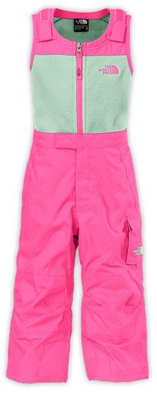 eedbd6dfc The North Face Toddler Girls' Insulated Bib - Gem Pink
