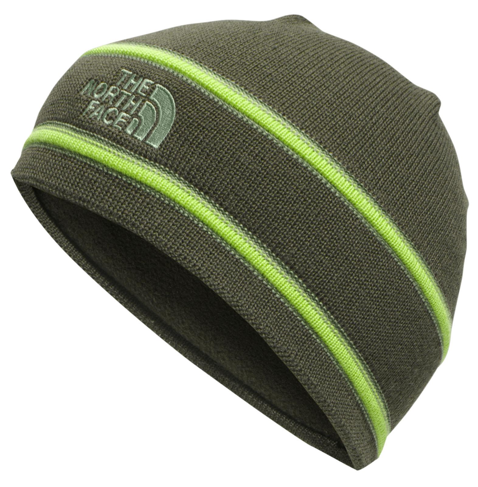 c13fc4cdeec The North Face Logo Beanie - Rosin Green  Duck Green  Neptune Diving   Ski