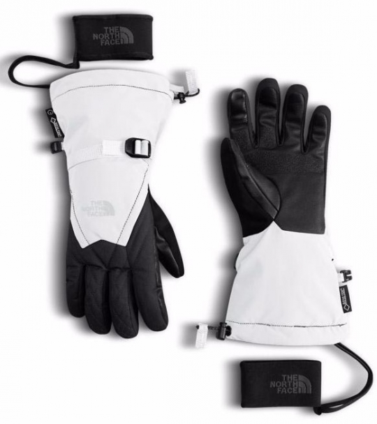 fed912cd5 The North Face Women's Montana GORE-TEX Glove - TNF White/ TNF Black