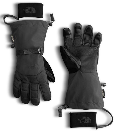 40521129b The North Face Men's Montana GORE-TEX Glove - TNF Black