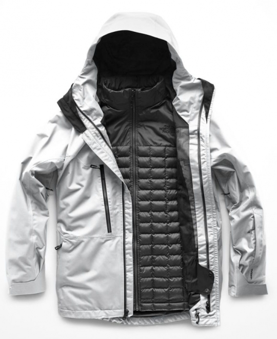 f543f715e9 The North Face Men s ThermoBall Snow Triclimate Jacket - High Rise Grey    Asphalt Grey  Neptune Diving   Ski