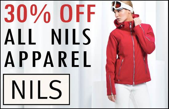 Nils Sale. Ski Sale. 20% Off. Nashville.