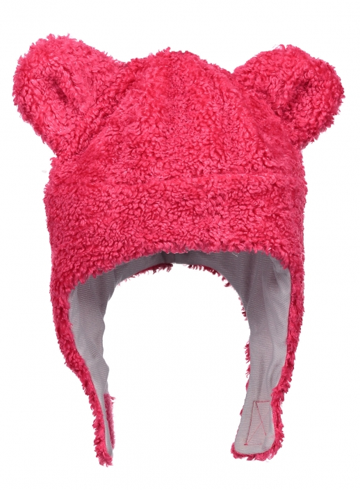 8d337148c5038 Obermeyer Kid Girl's Ted Fur Hat - Pink-Out: Neptune Diving & Ski