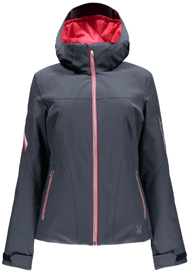 62c8ab597 Spyder Women's Project Jacket - Depth/Bryte Pink/White: Neptune Diving & Ski