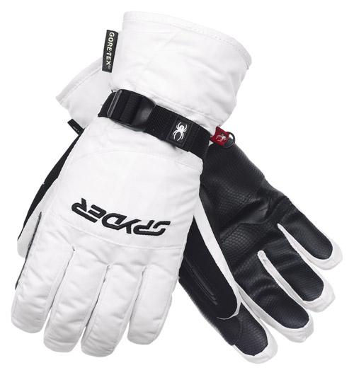 Spyder Women s Traverse Glove - White  Neptune Diving   Ski 569eedb71