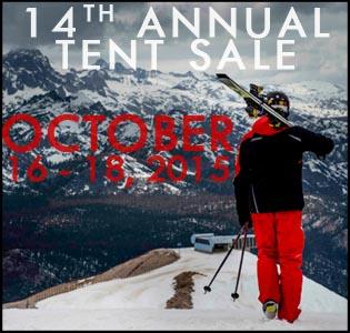 Tent Sale. October 2015. Neptune. Nashville Ski. Snowboard Nashville.